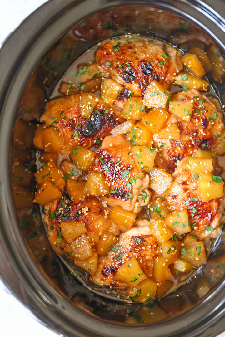 The Slow Cooker Pineapple Chicken That You Ll Never Stop